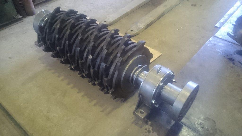 Ротор шредера промышленного