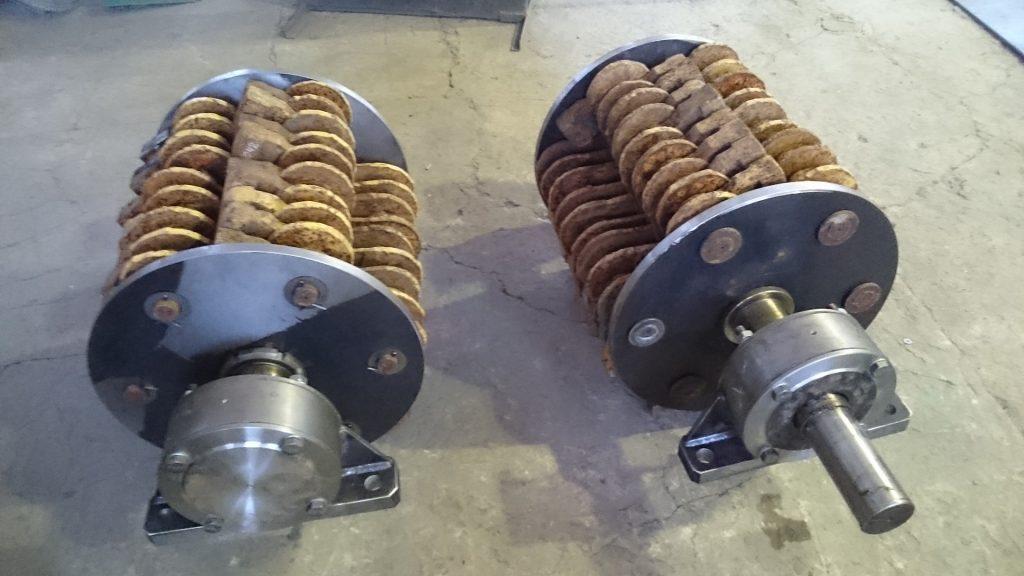 Ротор молотковой дробилки СМД-500